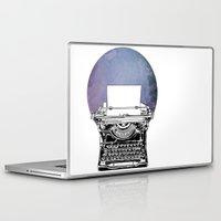 typewriter Laptop & iPad Skins featuring Typewriter by Rebecca Joy - Joy Art and Design