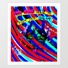 Dream+color Art Print
