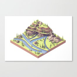 Riverways Canvas Print