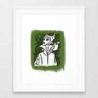maleficent Framed Art Prints featuring Maleficent by carotoki