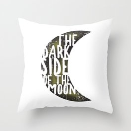 Floyd Pink - the dark side of the moon Throw Pillow