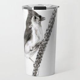 Tufted Titmouse Travel Mug
