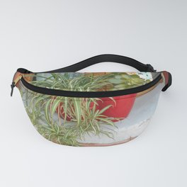 House Plants in Burano Fanny Pack