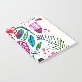 Wild Dahlias Notebook