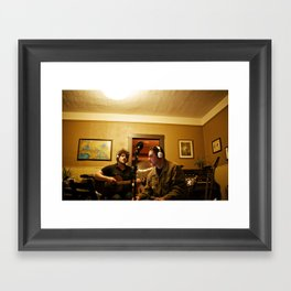 august // grove Framed Art Print