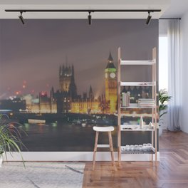 down by the thames ... Wall Mural