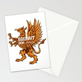Heraldry for people who like  fantasy legends and mythical creatures  Stationery Cards