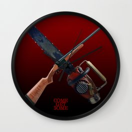 Come Get Some (clean) Wall Clock