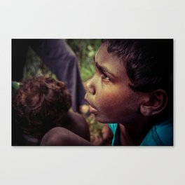 Wild Yam Picking Canvas Print