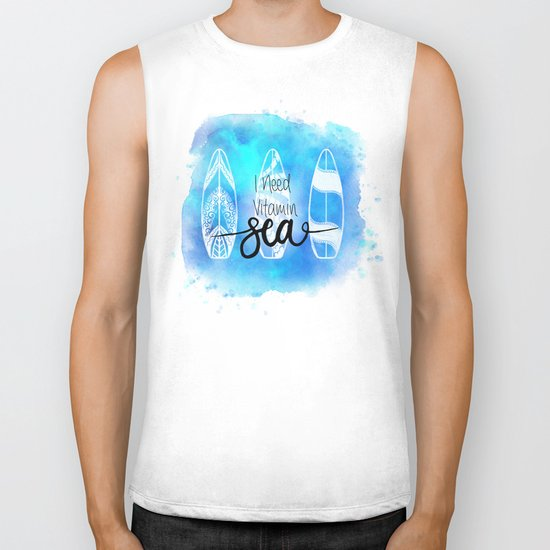 I need Vitamin SEA Quote Biker Tank