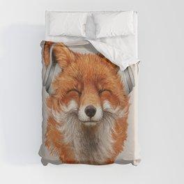 The Musical Fox Duvet Cover
