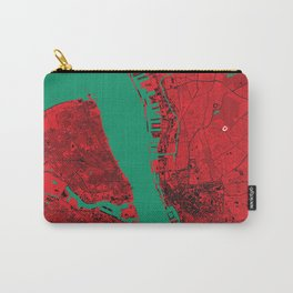 Liverpool Map Carry-All Pouch