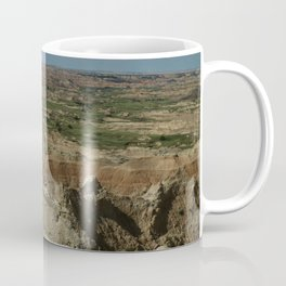 Amazing Badlands Overview Coffee Mug