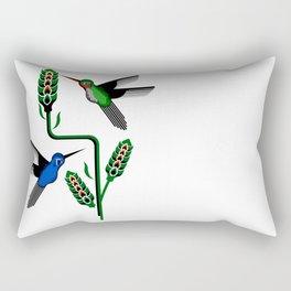 Geohummingbirds Rectangular Pillow