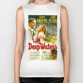 Deep Waters Biker Tank