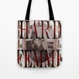 Hard Femme - Pin Up Girl Tote Bag