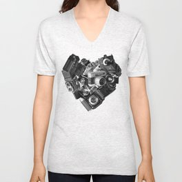 I`m in Love Unisex V-Neck