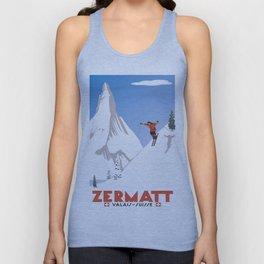 Zermatt, Valais, Switzerland Unisex Tank Top