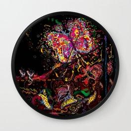 Metamorphoses Wall Clock