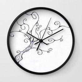 Burton Tree Wall Clock