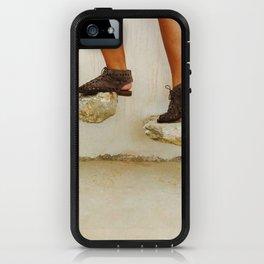 Feet in Greece iPhone Case