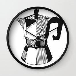 Some Like It Caffeinated Wall Clock