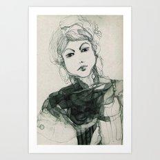 Ritratto immaginario Art Print