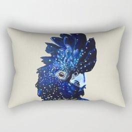 """Amelia"" The Red Tailed Cockatoo Rectangular Pillow"