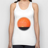 cape cod Tank Tops featuring Goodnight Cape Cod by KarenHarveyCox