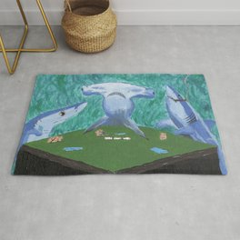 Card Sharks Rug