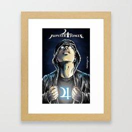 Jupiter Jonze (Variant Cover) Framed Art Print