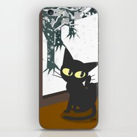 snow iPhone & iPod Skins featuring Snow by BATKEI