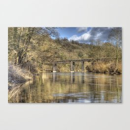 The Black Bridge Canvas Print