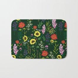 flower garden Bath Mat