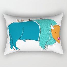 Bristol Bison Rectangular Pillow