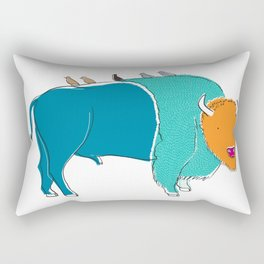 Bristol Bison Rectangular Pillow