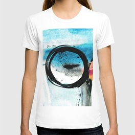 Enso Abstraction o. 113R by Kathy Morton Stanion T-shirt