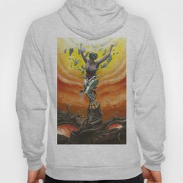 """Invictus"" by Adam France Hoody"