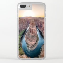 The Bend - Horseshoe Bend During Southwestern Sunset Clear iPhone Case