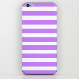 Purple Lines iPhone Skin