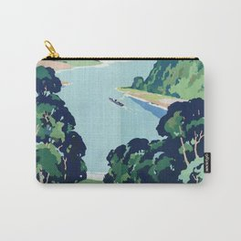 Ullswater Vintage Travel Poster Carry-All Pouch