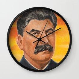 Joseph Stalin Vintage Portrait Wall Clock