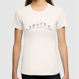 Dixieland Skeletons T-shirt