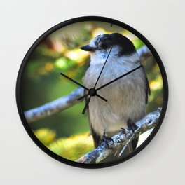Gray is the new black! Wall Clock