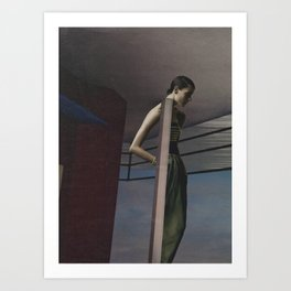 Visible Means Of Support  Art Print