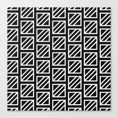 Glyph Pattern Canvas Print