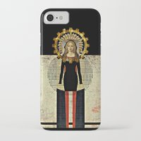 madonna iPhone & iPod Cases featuring Renaissance Madonna by Studio Judith