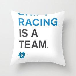 is a team Throw Pillow
