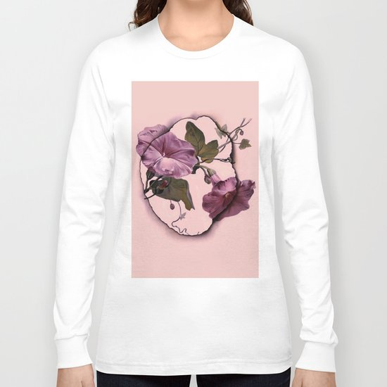convolvulus and tile Long Sleeve T-shirt