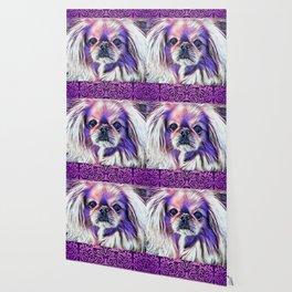 Peak in purple Wallpaper